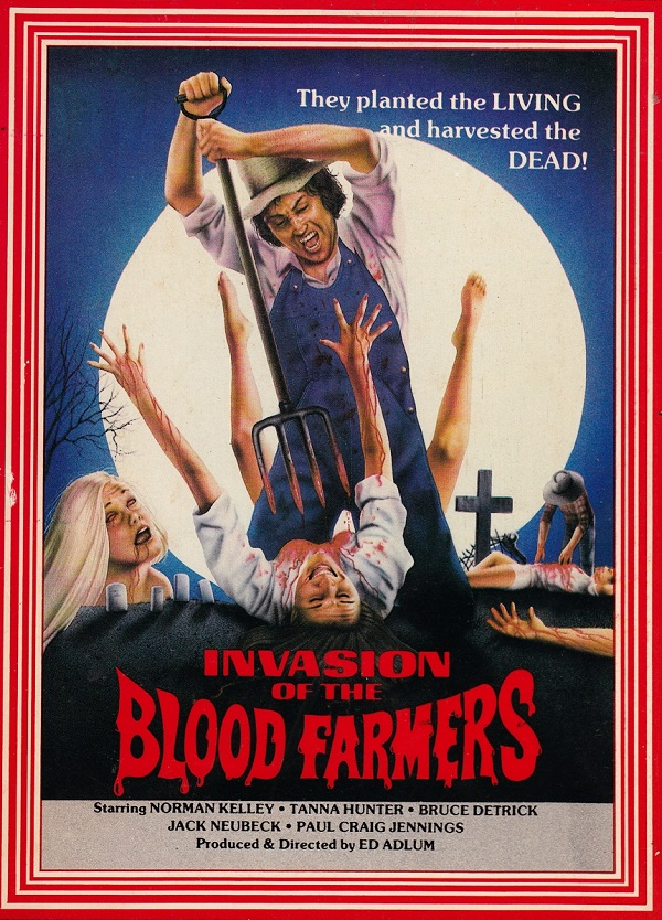 Invasion of the Blood Farmers movie poster