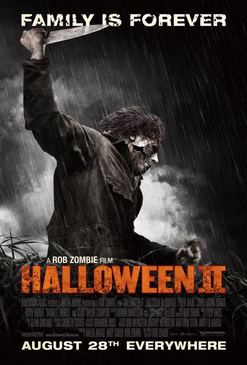 Rob Zombie Halloween II movie poster
