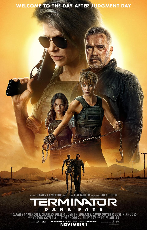 Terminator Dark Fate theatrical poster