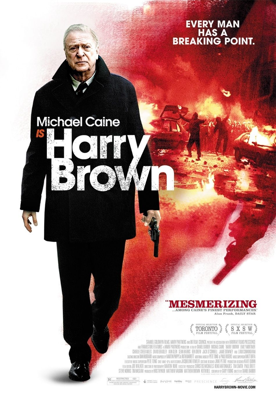 Underseen Movie: Harry Brown in Which Michael Caine Gets His Own Version of Death Wish